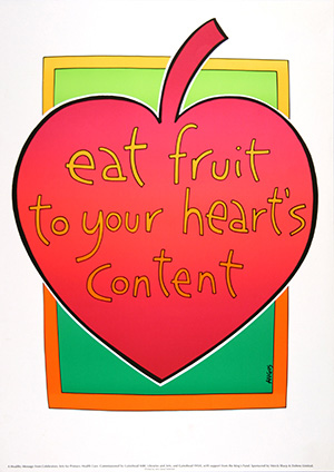 Eat fruit to your heart's content